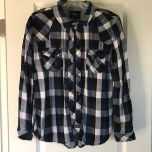 Oh so soft Rails flannel